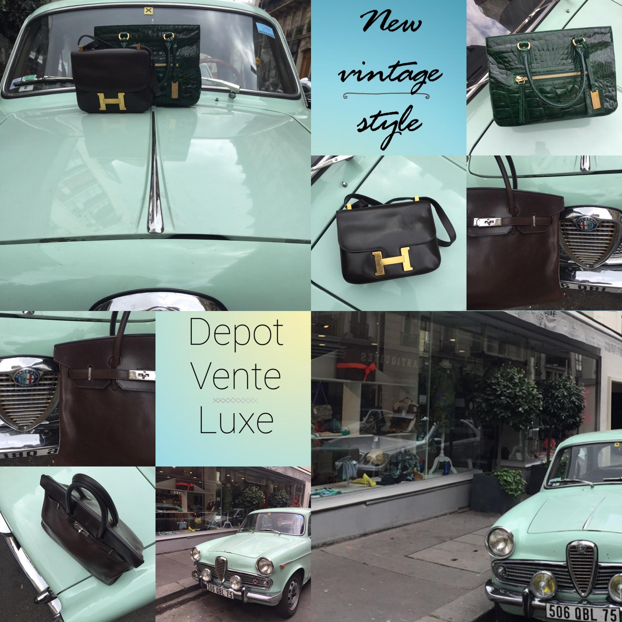 magasin depot vente luxe rue de la tour paris